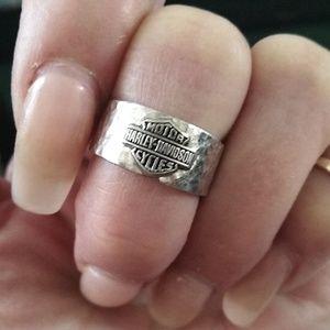 Harley Davidson sterling ring